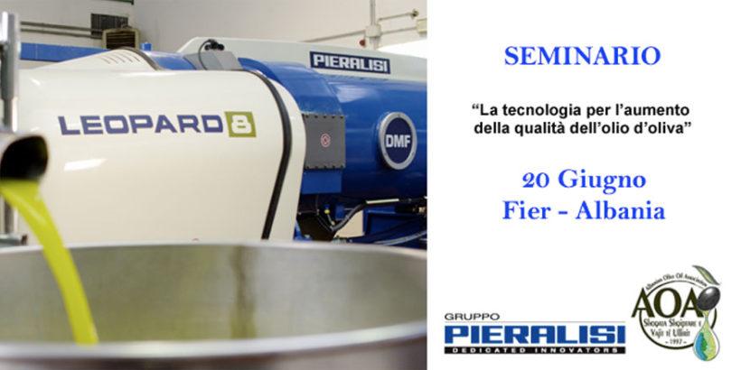Seminario Tecnologie per la qualità dell'olio di oliva