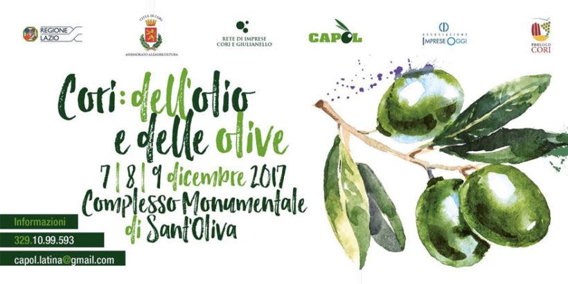cori dell'olio e delle olive