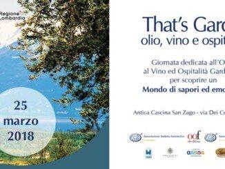 That's Garda: olio ed enogastronomia