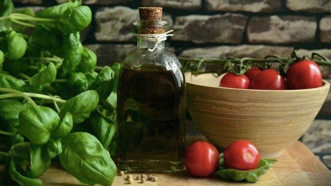 cucina e olio d'oliva