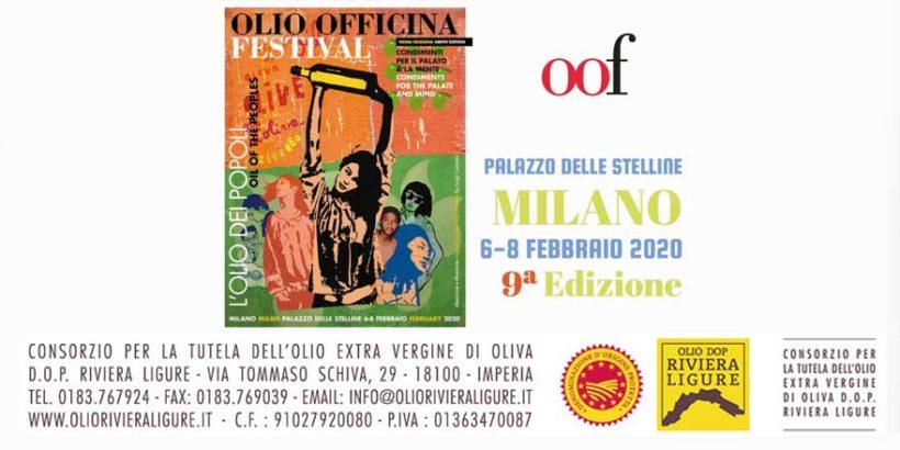 Olio Dop Riviera Ligure a OlioOfficina Festival 2020