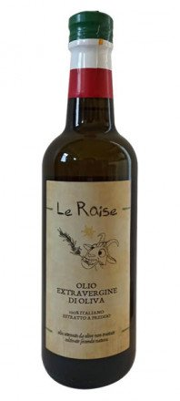 olio extravergine Le Raise