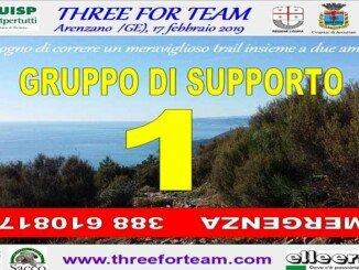 Olio DOP Riviera Ligure con Three for Team