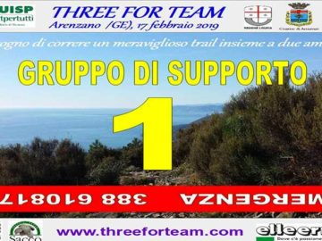 Olio DOP Riviera Ligure con Three for Team