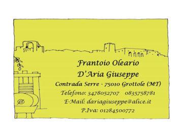Frantoio Oleario D'Aria Giuseppe