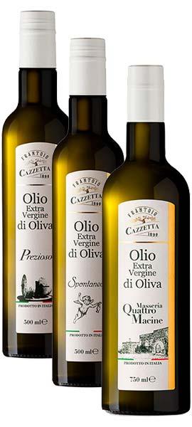 Olio Terra D'Otranto - Azienda Cazzetta